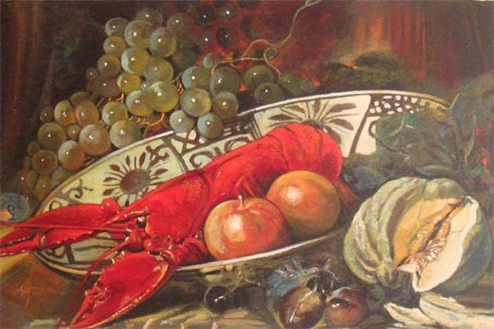 Giuseppe Afrune: Opere Natura Morta